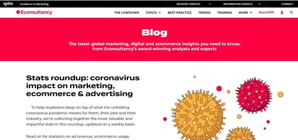 econsultancy dijital pazarlama blogu